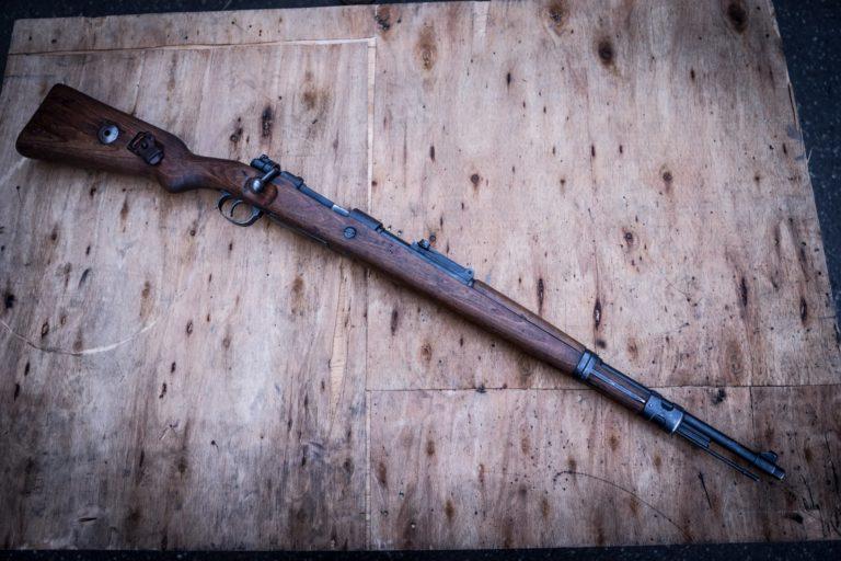 strzelanie otwarte - rocznica II wojny światowej - mauser